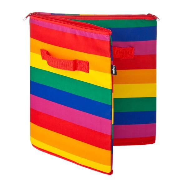 Úložný koš na zip Rainbow