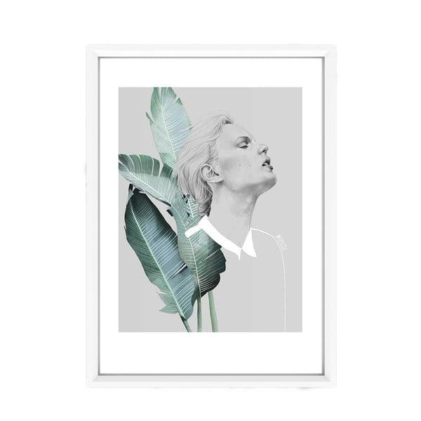 Fame poszter fehér keretben, 33,5 x 23,5 cm - Piacenza Art