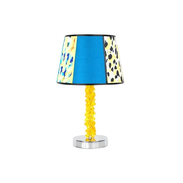 Stolní lampa Crystal Yellow Blue