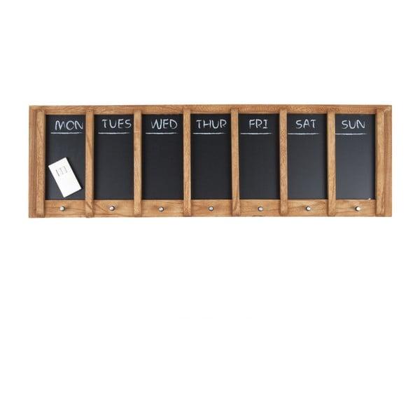 Kalendarz tygodniowy w formie tablicy PT LIVING Wood