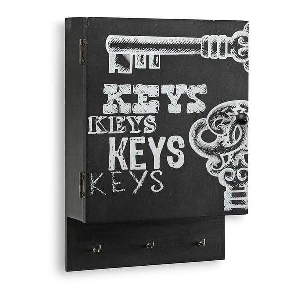 Skříňka na klíče Key Black Door