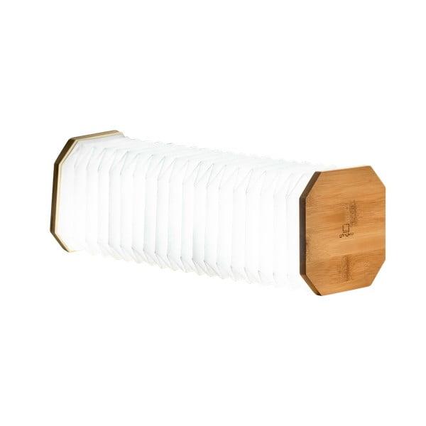 Accordion világosbarna összecsukható lámpa - Ginkgo
