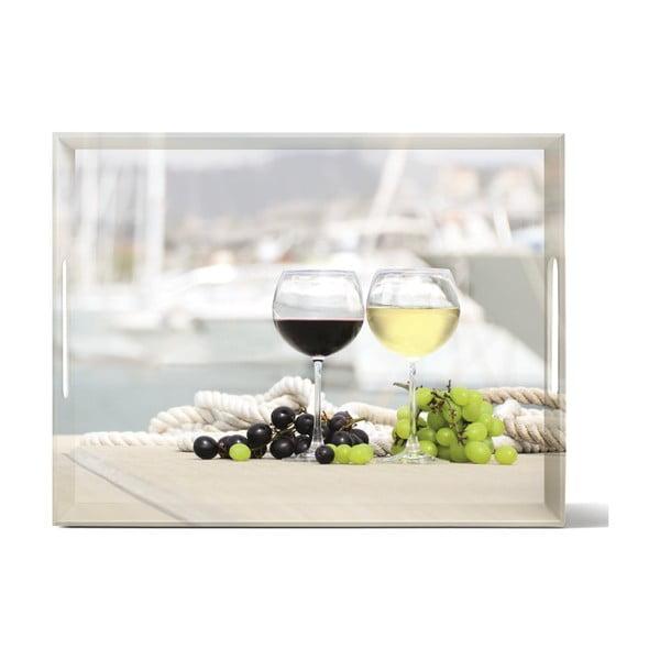 Podnos Classic Summer Wine, 40x31 cm