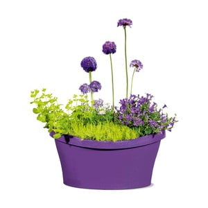 Venkovní květináč Living 30x30 cm, fialový