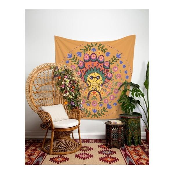 Nástěnná tapisérie Madre Selva Bibo, 140 x 140 cm