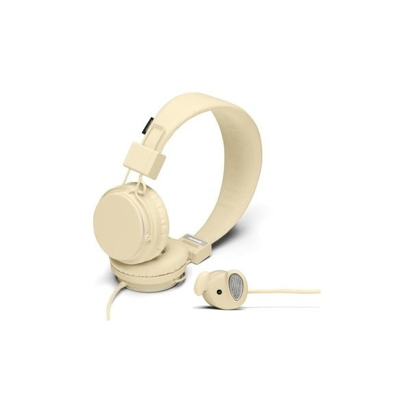 Sluchátka Plattan Cream + sluchátka Medis Cream ZDARMA