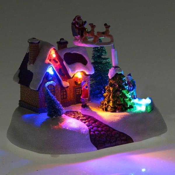 Vánoční světelná a hýbající dekorace InArt Vera