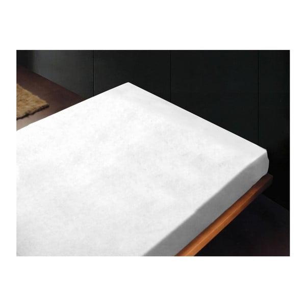 Neelastické prostěradlo Liso Blanco, 240x260 cm