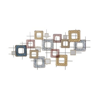 Decorațiune metalică pentru perete Mauro Ferretti Cube, 134,5x71cm de la Mauro Ferretti