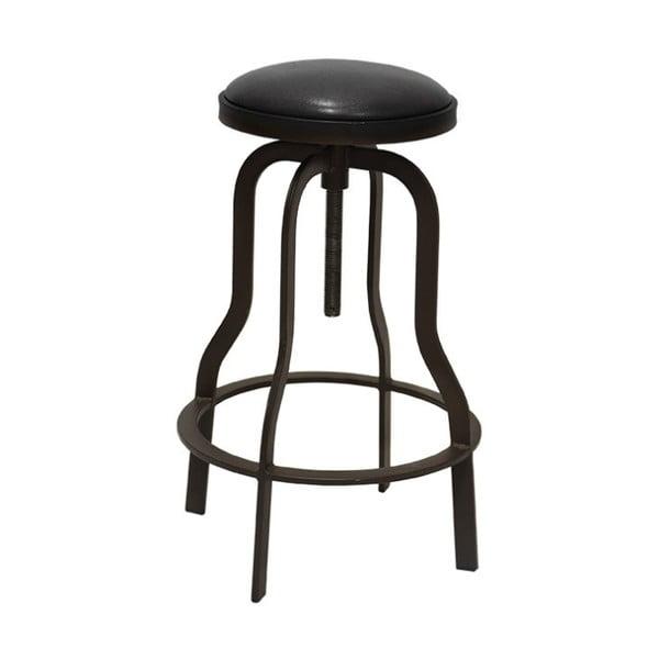 Tmavě hnědá barová stolička RGE Vergas, výška 66cm