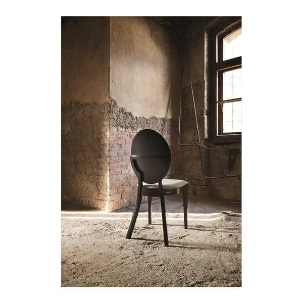 Černá dřevěná židle Fameg Anesa