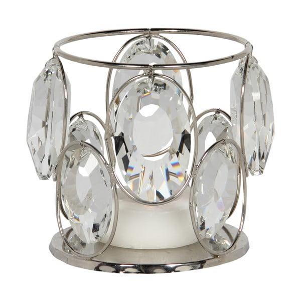 Svícen Cristal Noblesse, 10x10 cm