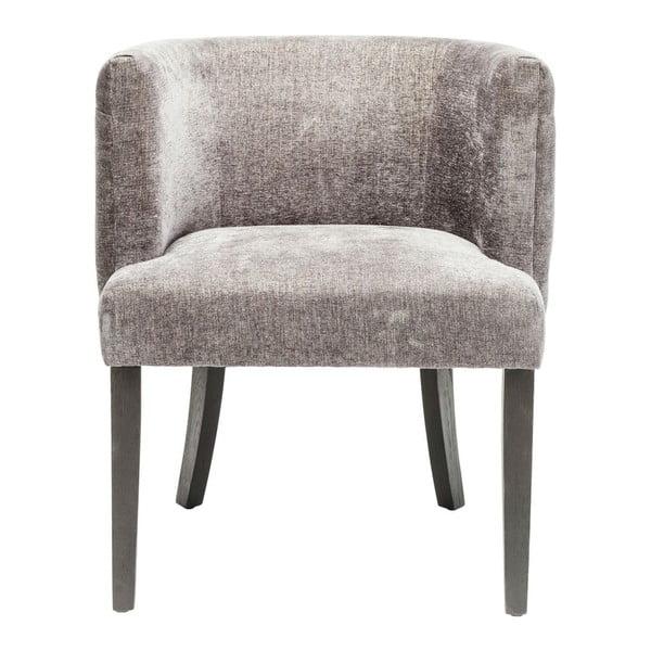 Tmavě šedá židle Kare Design Theater