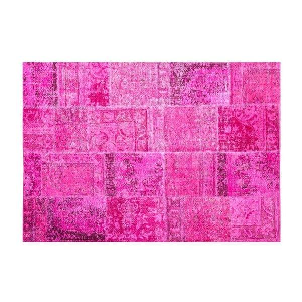 Vlněný koberec Allmode Fushia, 150x80 cm