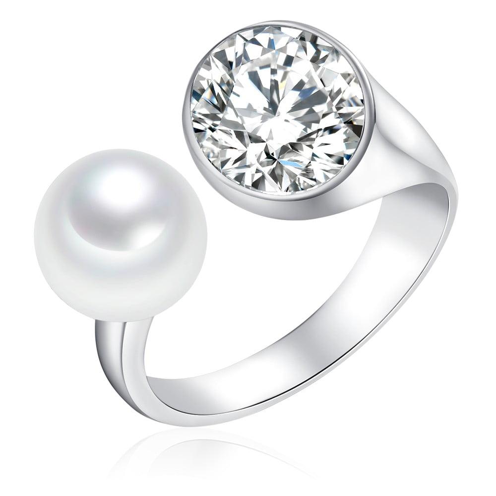 Perlový prsten Pearls Of London South Sea, 3 cm