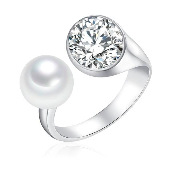 Perlový prsten South Sea, 3 cm
