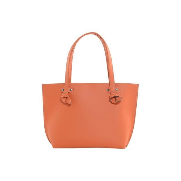 Kožená kabelka Betta Orange