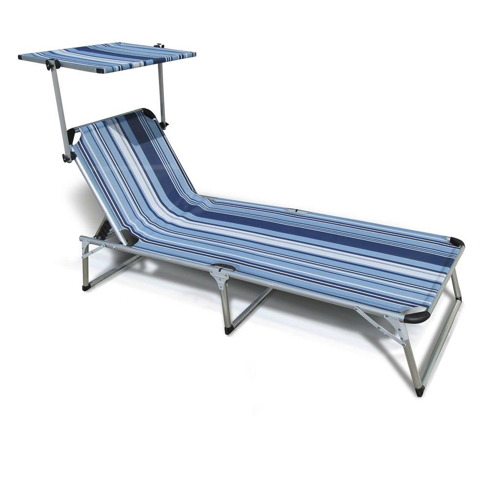 Modré zahradní lehátko Crido Consulting Sunbed