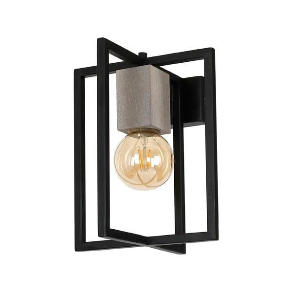 Černé stolní svítidlo Devante