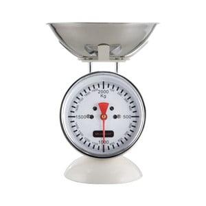 Bílá kuchyňská váha Brandani