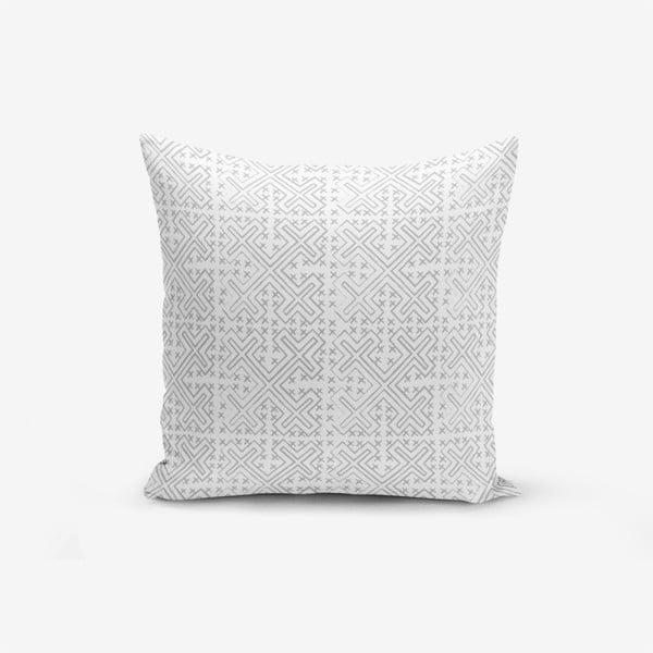 Față de pernă cu amestec din bumbac Minimalist Cushion Covers Silinecek, 45 x 45 cm