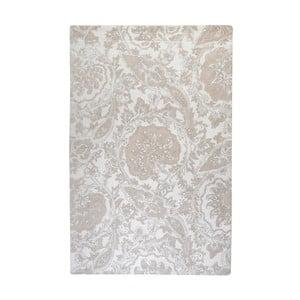 Ručně vyráběný koberec The Rug Republic Munnar Ivory, 160 x 230 cm