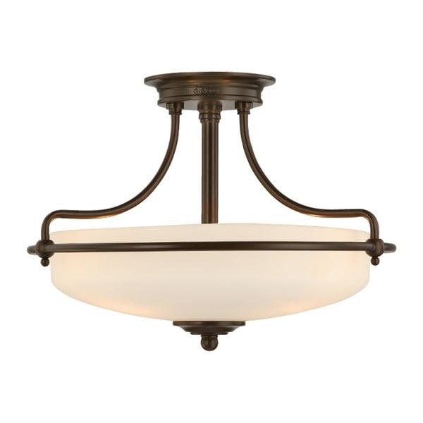 Stropní svítidlo v bronzové barvě Elstead Lighting Griffin Tres Semi
