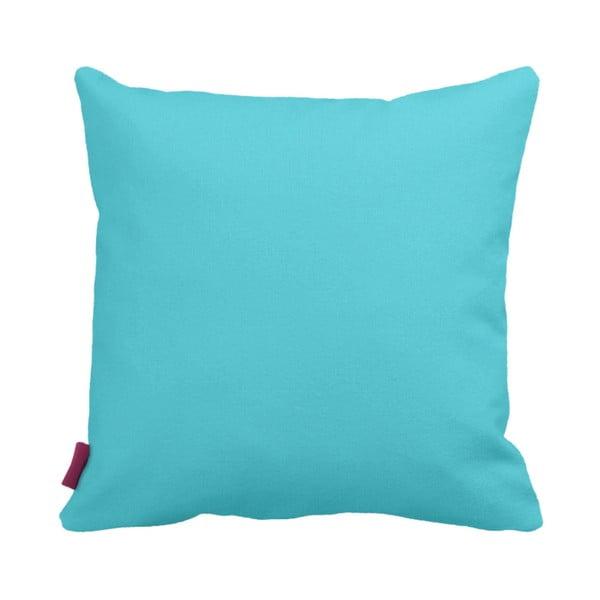 Tyrkysovobílý polštář Home Blue, 43x43cm