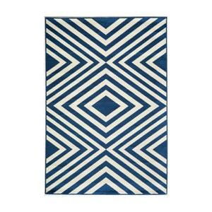 Modrý koberec Nourison Baja Tumbes, 290 x 201 cm