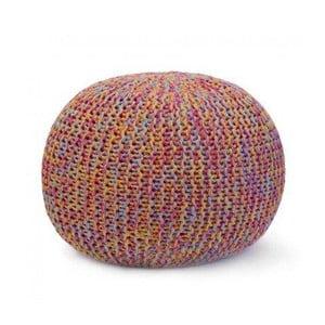 Ručně pletený puf Sabichi Coloured