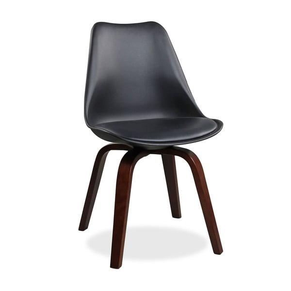 Židle Cross Plywood Black