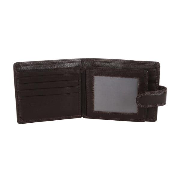 Pánská kožená peněženka Dark Brown Finest Natural Cowhide