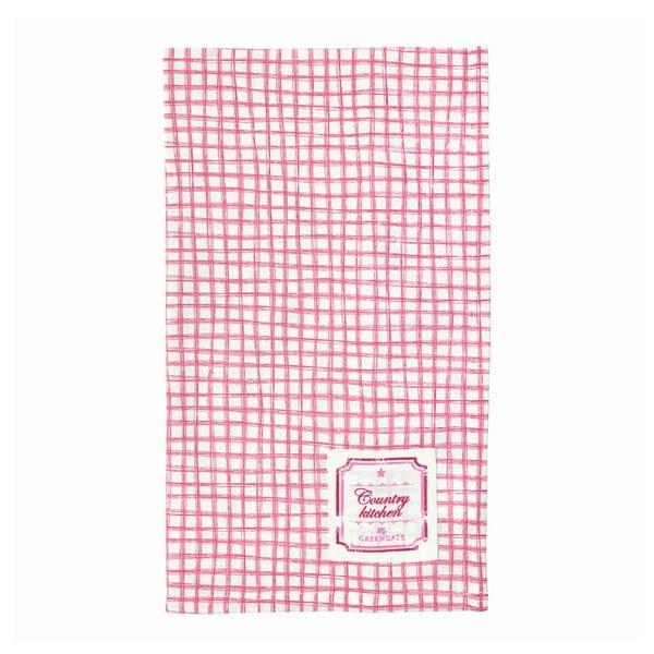 Kuchyňská utěrka Frederikke Raspberry, 50x70 cm