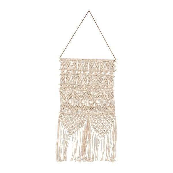 Béžová závěsná dekorace House Doctor Artesian Ivory, délka 60 cm