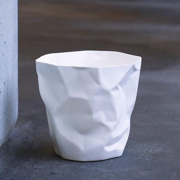 Biely odpadkový kôš Essey Bin Bin
