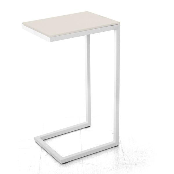Odkládací stolek Logico, bílý