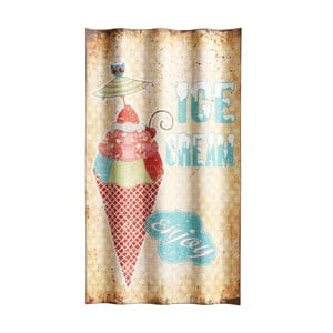 Cedule Ice cream enjoy, 66x37 cm