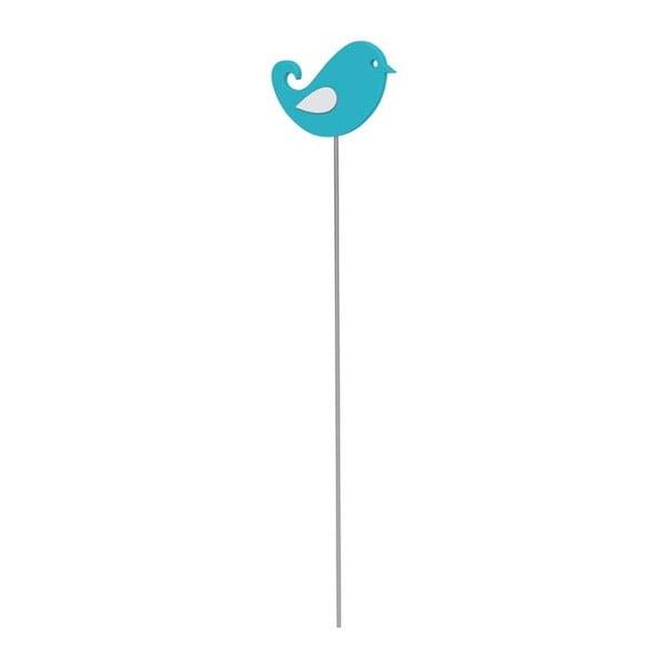 Dekorativní tyčka Bird Turquoise