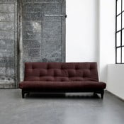 Canapea extensibilă Karup Fresh Wenge/Brown