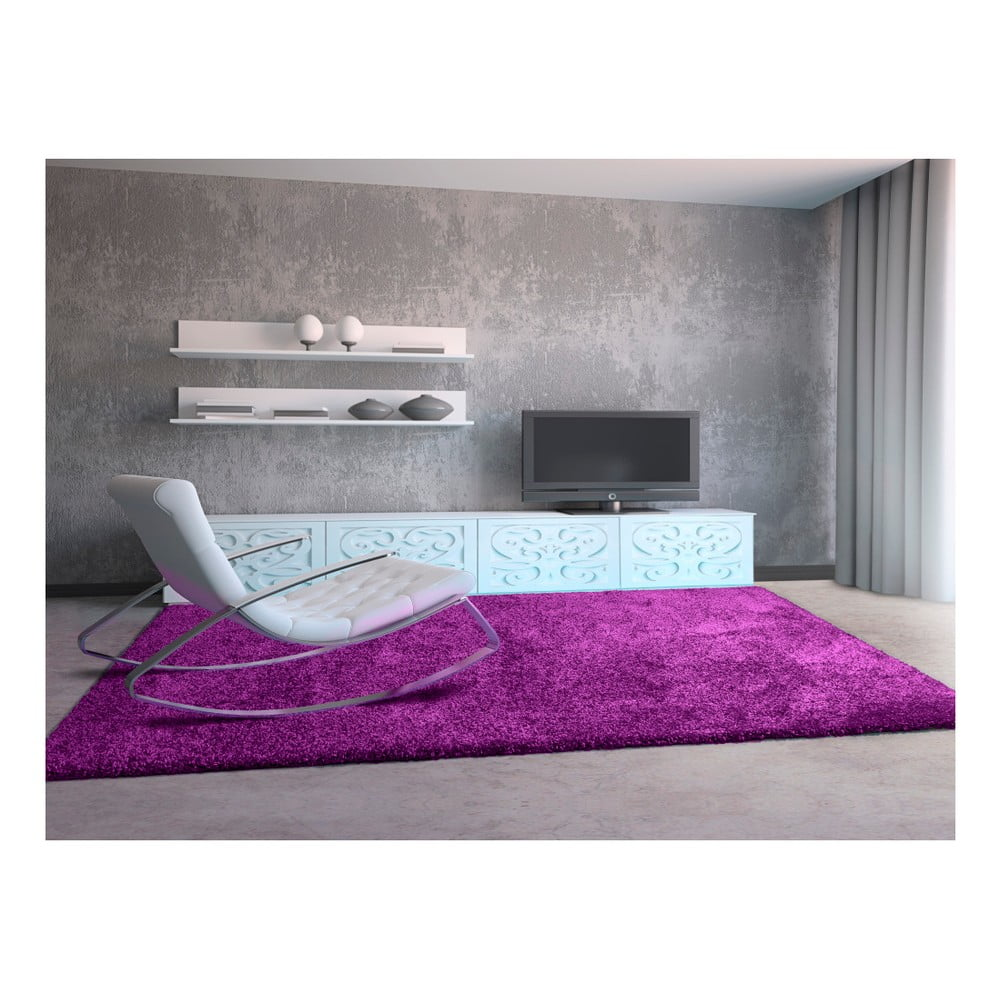 Produktové foto Fialový koberec Universal Aqua Liso, 67 x 125 cm
