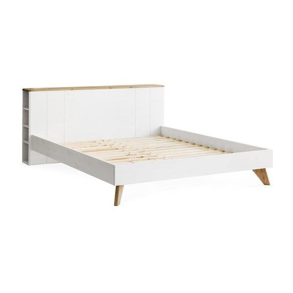 Maru borovi fenyőfa ágy, szélesség 180 cm - Askala