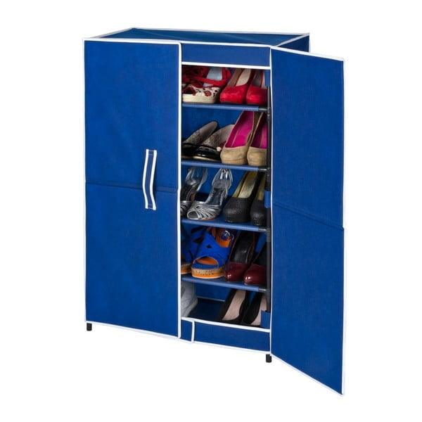 Pantofar pentru 15 perechi de pantofi Wenko Ocean, albastru