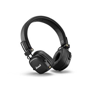 Černá bezdrátová sluchátka Marshall Major III