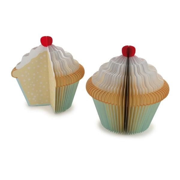 Poznámkový bloček Kikkerland Cupcake