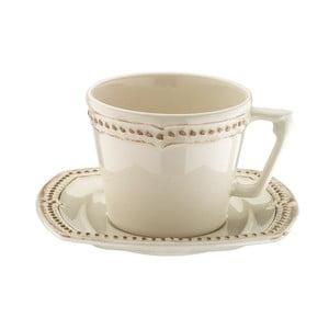 Sada 6 porcelánových šálků na čaj s podšálky Kutahya 5 O´Clock