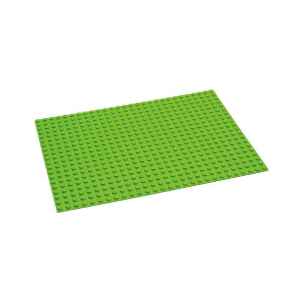 Placă de bază pentru jocul de construcție Hubelino, verde