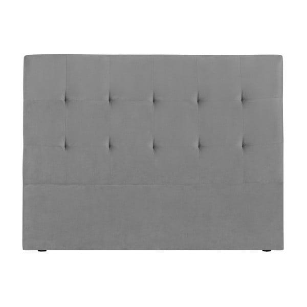 Šedé čelo postele Kooko Home Basso, 120 x 160 cm