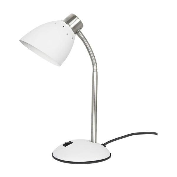 Bílá stolní lampa Leitmotiv Dorm