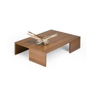 Konferenční stolek v dekoru ořechu MobiliFiver Rachelle