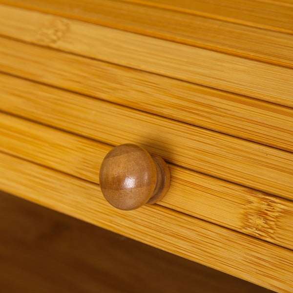 Chlebník z bambusu Unimasa, 27 x 16,5 cm